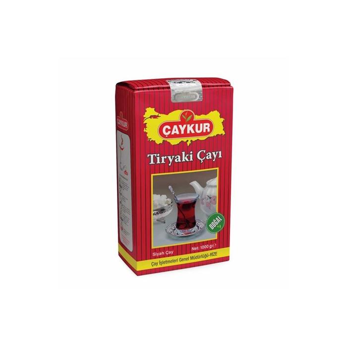 Çaykur Tiryaki Çay 1000gr 10'lu Koli resmi