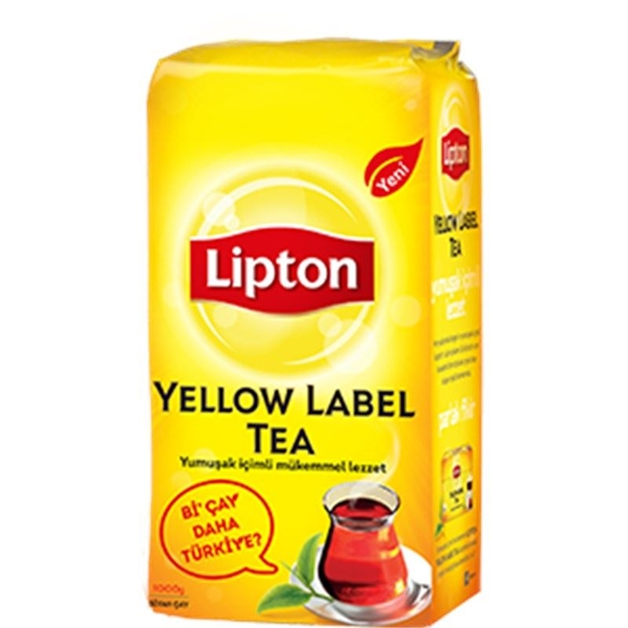 Lipton Yellow Label 1000gr 9'lu Koli resmi