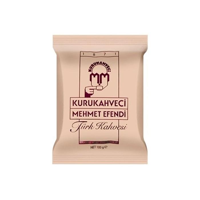Mehmet Efendi Türk Kahvesi 100 gr 25'li Paket resmi
