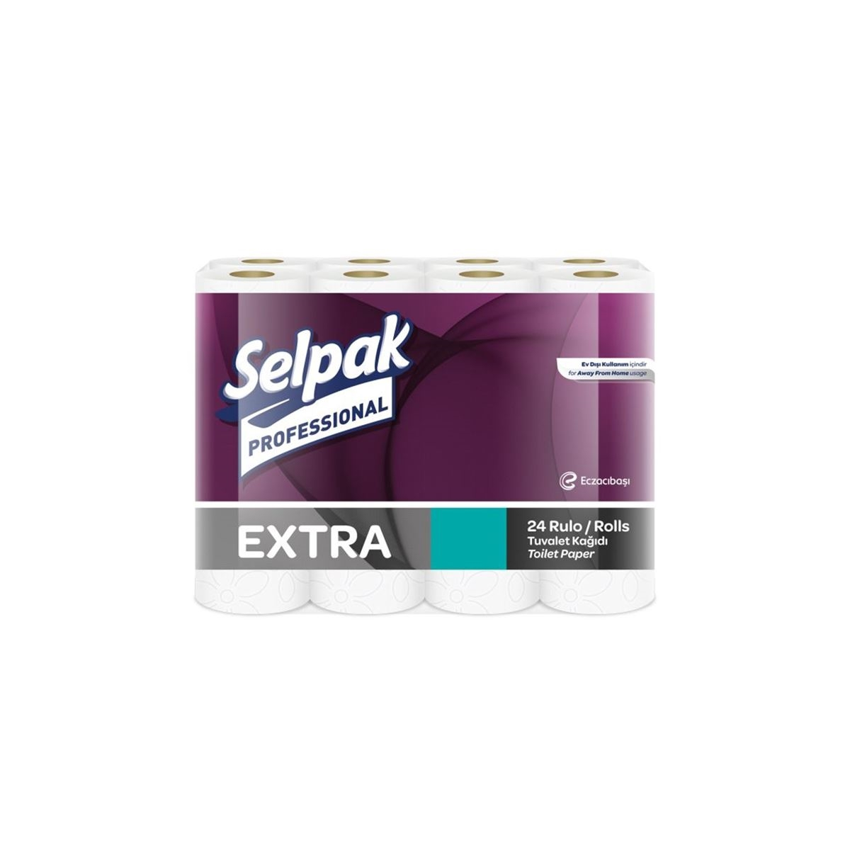 Selpak Professional Extra Tuvalet Kağıdı 24'lü 2 Katlı 3'lü Koli resmi