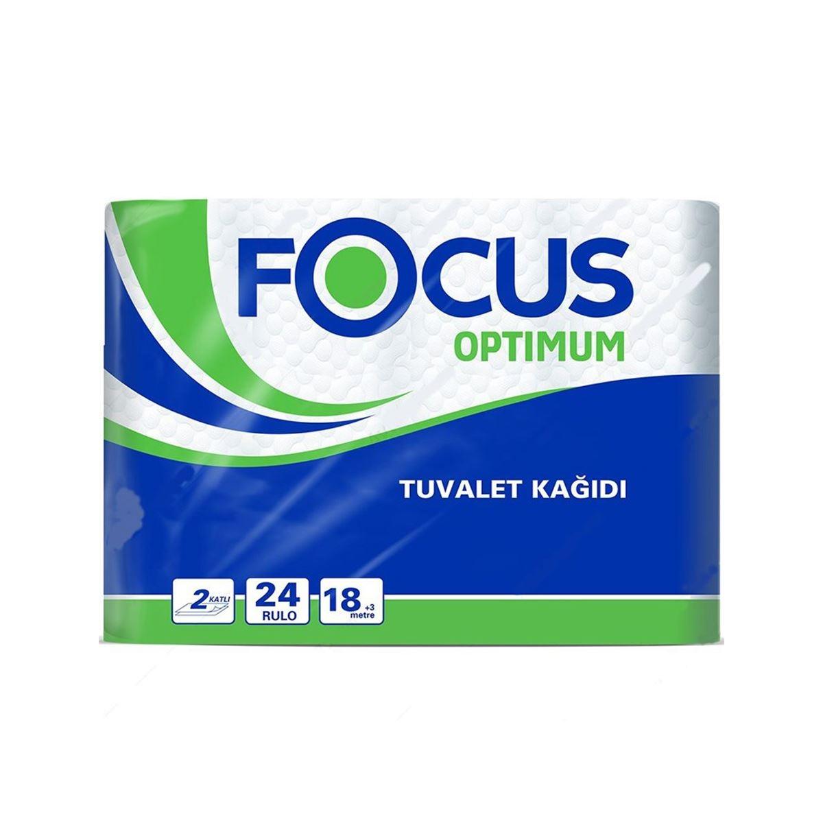 Focus Optimum Tuvalet Kağıdı 24'lü 3'lü Koli resmi