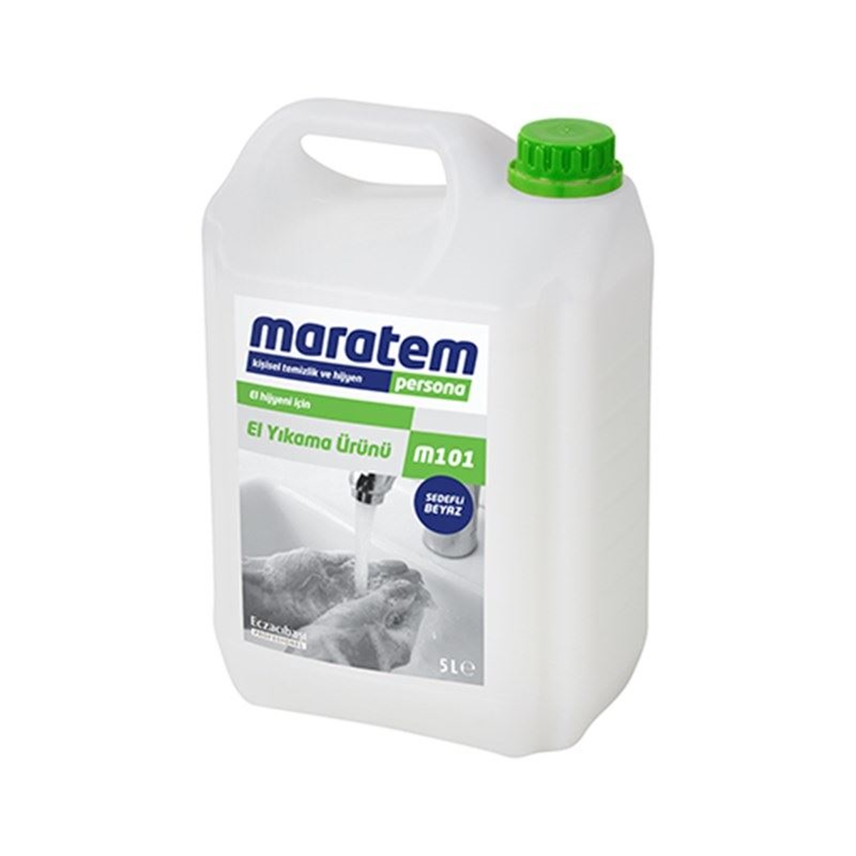Maratem m101 Sedefli Beyaz 5kg resmi