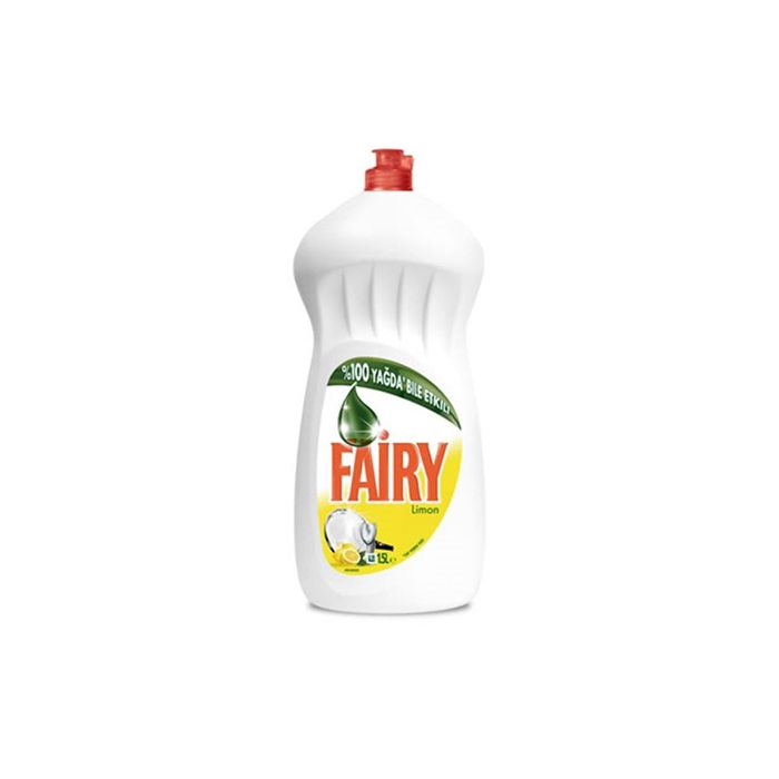 Fairy Elde Bulaşık Deterjanı Limon 1350ml 9'lu Koli resmi
