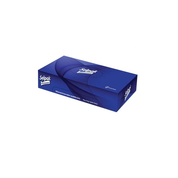 Selpak Professional Premium Kutu Mendil 50'li 24 Paket 3 Katlı resmi