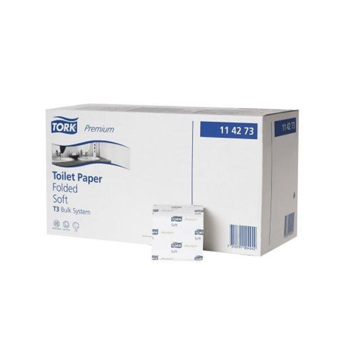 Tork C Katlamalı Tuvalet Kağıdı Premium  252*30 resmi