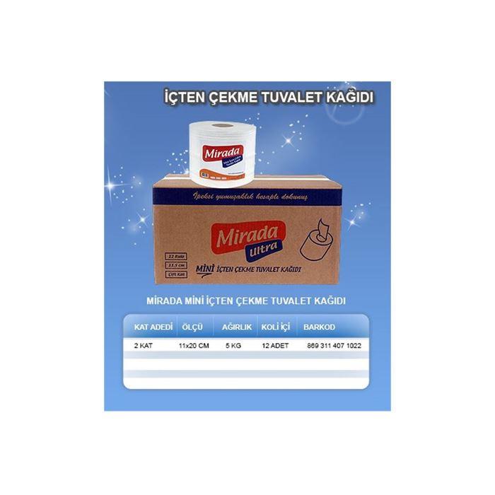 Mirada Mini İçten Çekmeli Tuvalet Kağıdı resmi