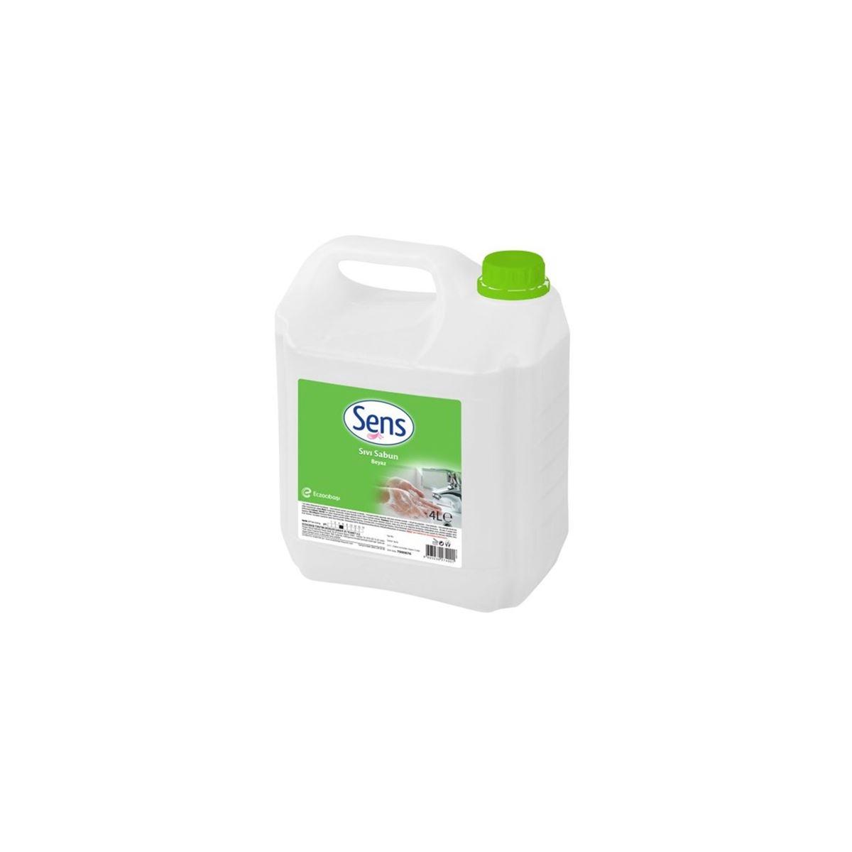 Sens Sıvı Sabun Beyaz 4kg 4'lü Koli resmi