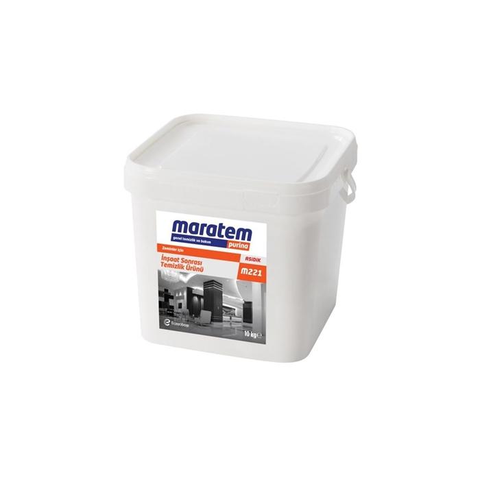 Maratem m221 İnşaat Sonrası Temizlik Ürünü 10kg resmi