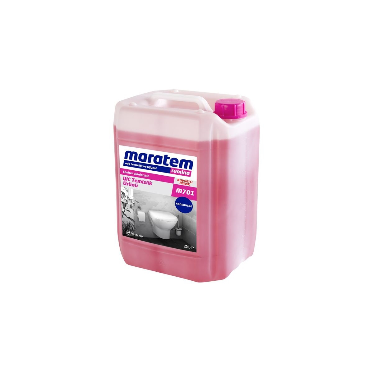 Maratem M701 WC Temizlik Ürünü 20kg resmi