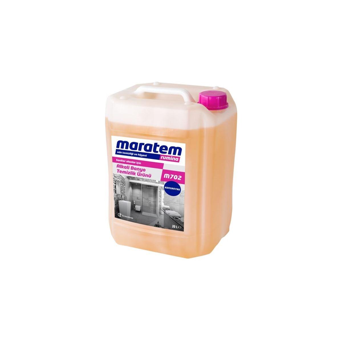 Maratem M702 Alkali Banyo Temizlik Ürünü 20kg resmi