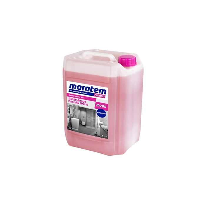 Maratem M705 Asidik Banyo Temizlik Ürünü 20kg resmi