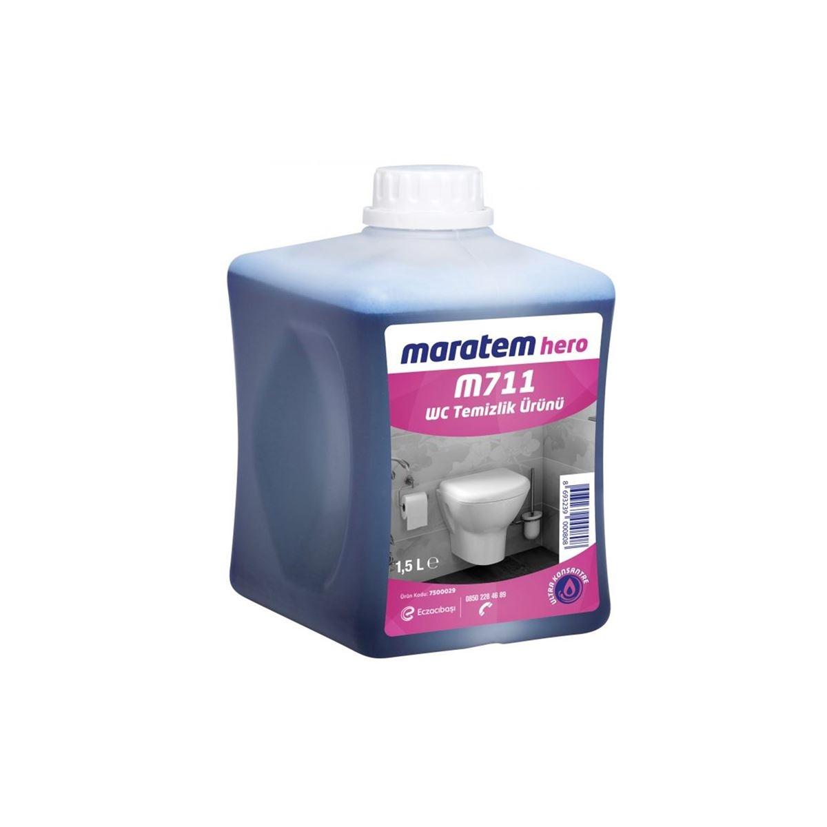 Maratem M711 Hero WC Temizlik Ürünü 2,13kg(4'lü koli) resmi