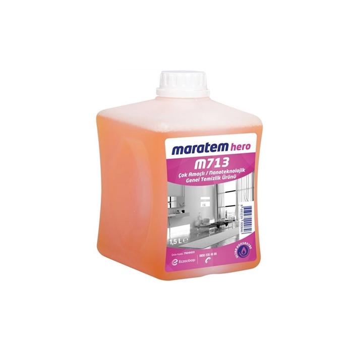 Maratem M713 Çok Amaçlı Nanoteknolojik Temizlik Ürünü 1,53kg(4'lü koli) resmi