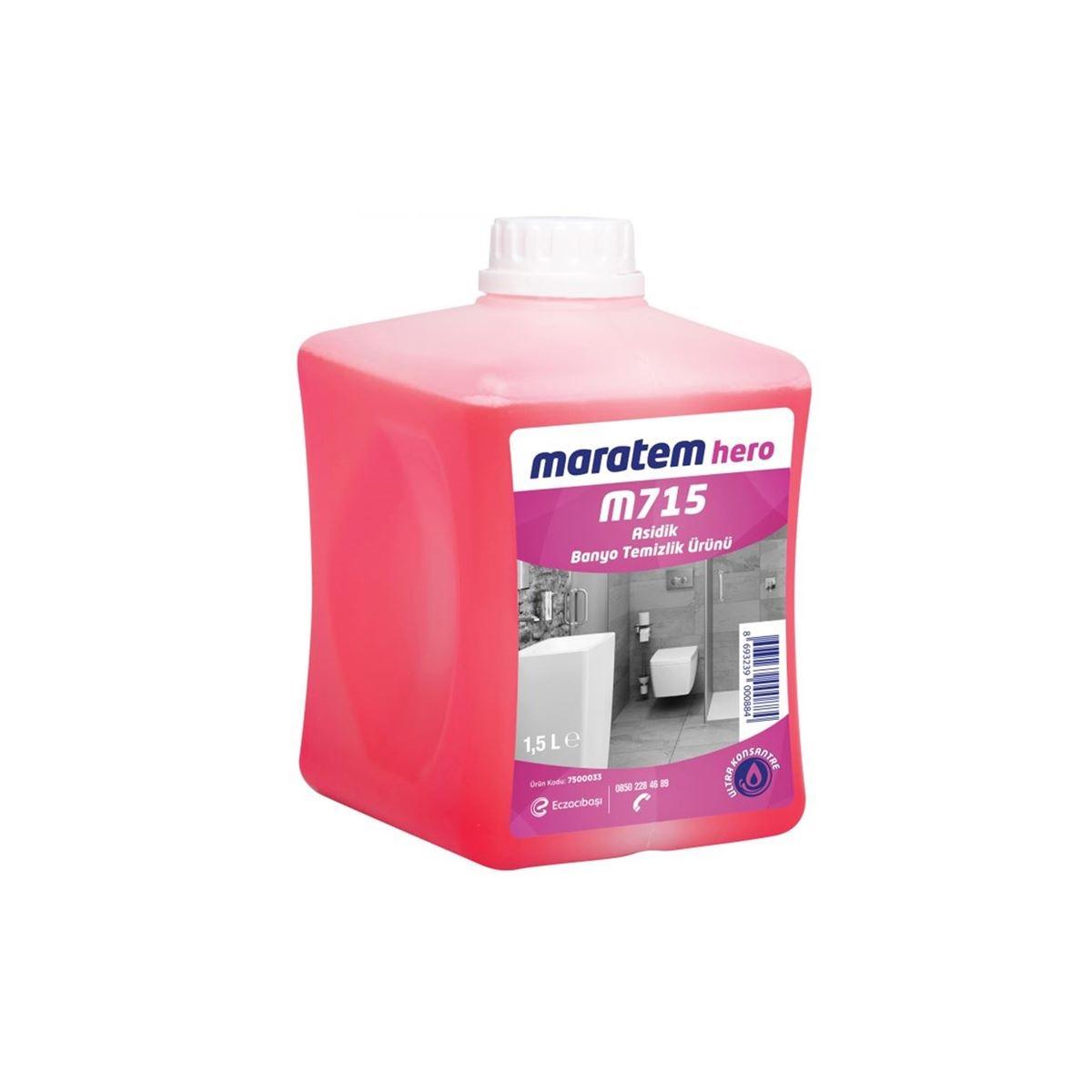 Maratem M715 Asidik Banyo Temizlik Ürünü 1,74kg(4'lü koli) resmi
