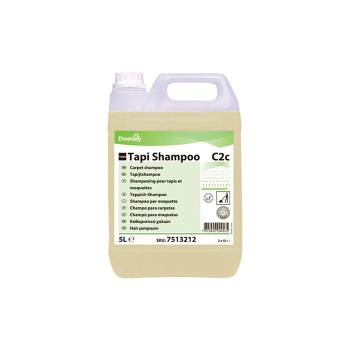 Diversey Taski Tapi Shampoo Kuru Köpük Halı Şampuanı 5,20kg(2'li koli) resmi