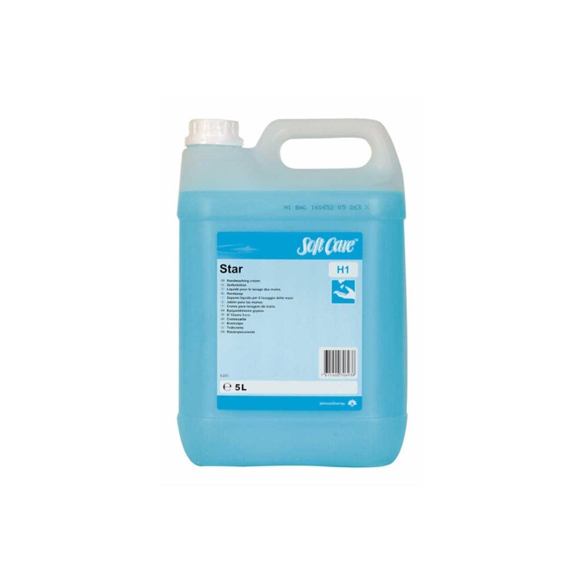 Diversey Orion Soft Care Star H100 Parfümlü El Yıkama Sıvısı 5,20kg(2'li koli) resmi