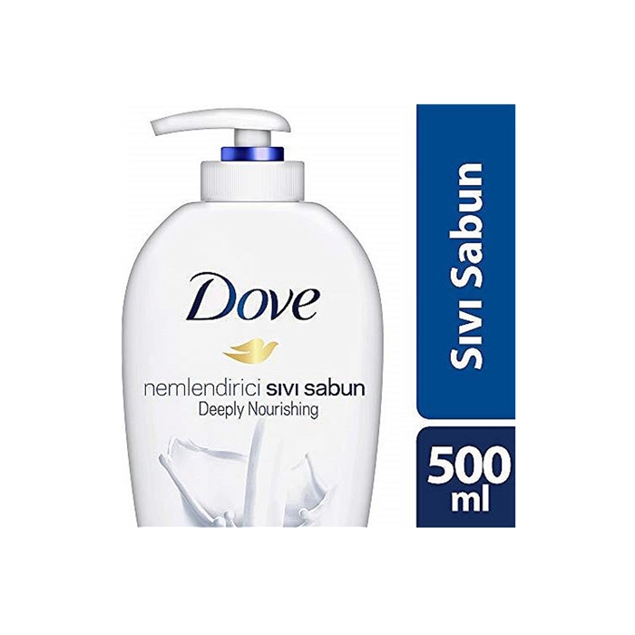 Dove Deeply Nourishing Sıvı Sabun 500ml 12'li Koli resmi