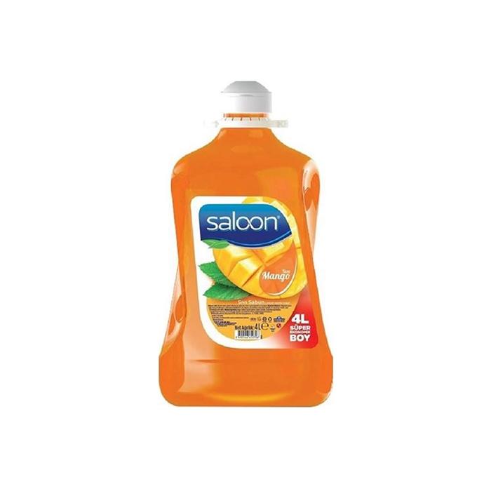 Saloon Sıvı Sabun Mango 3.6lt 4'lü Koli resmi
