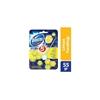 Domestos 5'li Güç Limon Ferahlığı Tuvalet Blok 55 gr 9'lu  Koli resmi