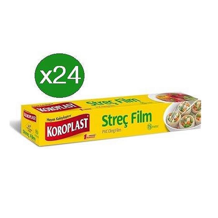 Koroplast Streç Film 30cmx15 mt*24 Adet resmi