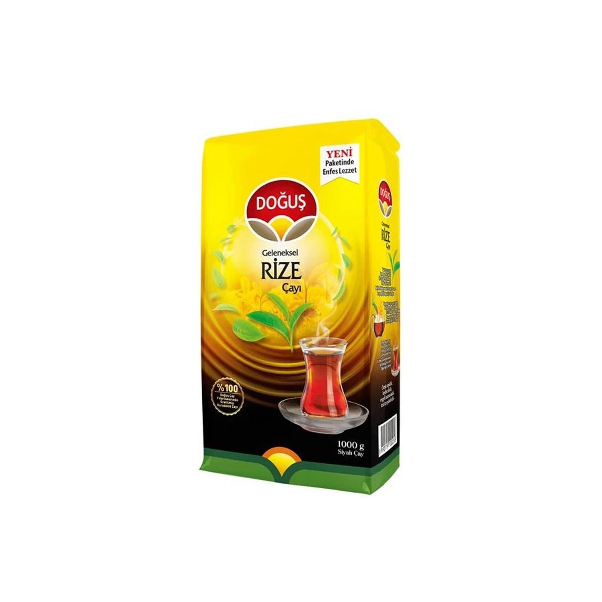 Doğuş Geleneksel Rize Çayı 1000gr 12'li Koli resmi