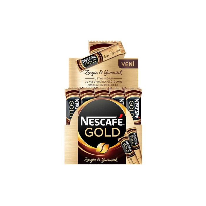 Nescafe Gold Kahve 2 x 50 Gr resmi