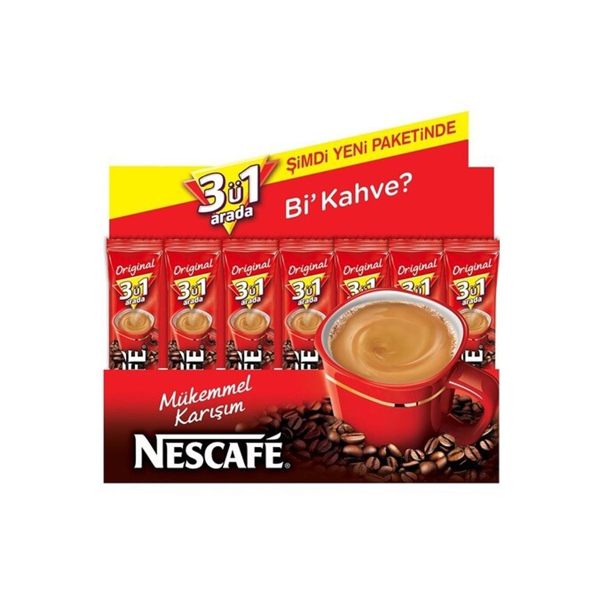 Nescafe 3ü1 Arada Original 96 Adet resmi