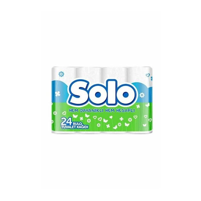 Solo Tuvalet Kağıdı 24'lü 2 Katlı 3'lü Koli resmi