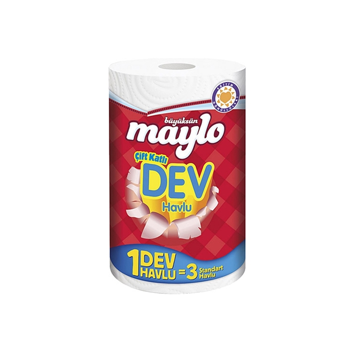 Maylo Dev Havlu 8'li Koli resmi