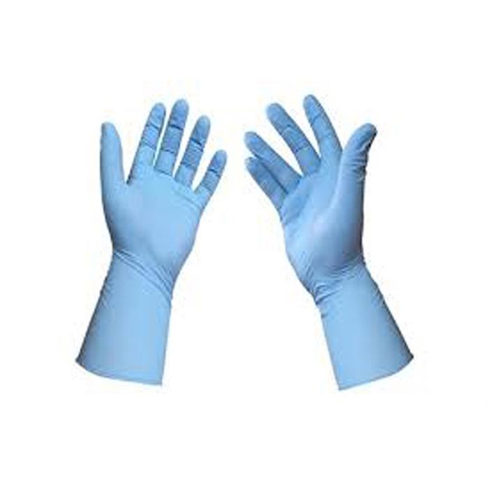 Nitril  Eldiven Mavi Pudrasız S 100'lü resmi