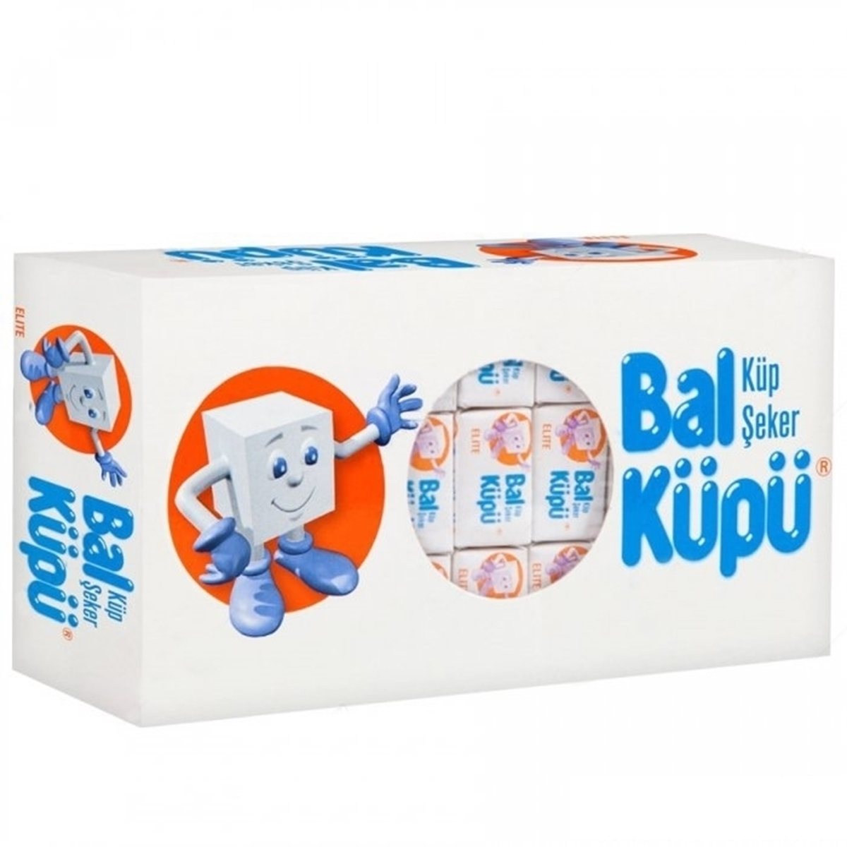 BalKüpü Çift Sargılı Küp Şeker 750 g 20'li Koli resmi